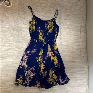 Mini blue sundress